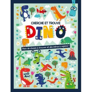 Cherche Et Trouve Geant Au Temps Des Dinosaures Achat