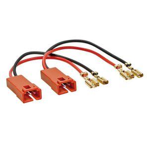 HAUT PARLEUR VOITURE Adaptateur haut parleurs Fiat / Peugeot / Lancia (