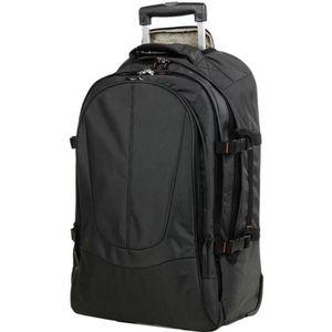 VALISE - BAGAGE Valise sac à dos ordinateur trolley 2 roulettes AI