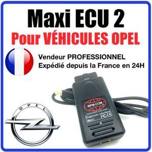 OUTIL DE DIAGNOSTIC Maxi ECU 2 + Interface MPM-COM Spécial OPEL - Vali