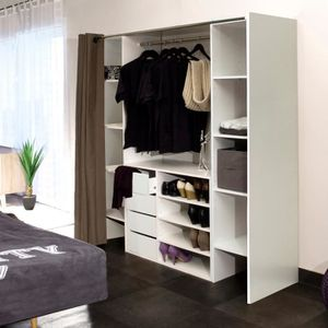 colonne penderie achat vente colonne penderie pas cher cdiscount. Black Bedroom Furniture Sets. Home Design Ideas