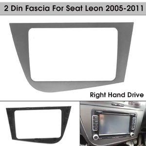 CT24ST01 seat toledo 1998 à 2004 noir simple din fascia adaptateur panneau plaque