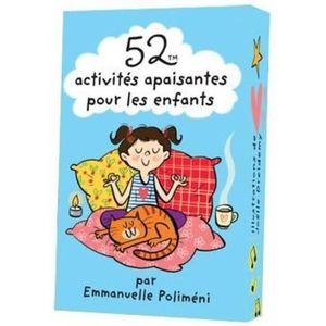 LIVRE 0-3 ANS ÉVEIL Livre - 52 activités apaisantes pour les enfants