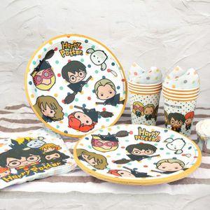 Harry Potter petites assiettes en papier 8pk Pour Enfants Fête Décoration Vaisselle
