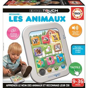 TABLETTE ENFANT EDUCA Touch Compact Baby Animaux