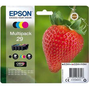 CARTOUCHE IMPRIMANTE EPSON Multipack T2986 - Fraise - Noir, Cyan, Magen