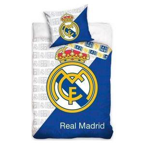 HOUSSE DE COUETTE ET TAIES Real Madrid - Parure de couette 140x200 + taie d'o