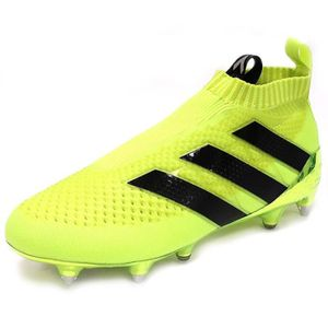wholesale dealer 7f661 74e1e chaussures ace 16 purecontrol sg football jaune adidas predator absolado  trx fg vert flash sportinlove