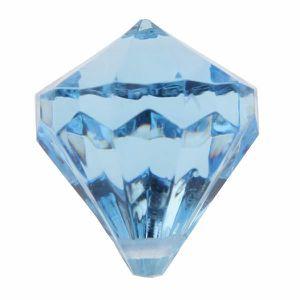 Décors de table Perle pampille diamant bleu (x6) REF/3852