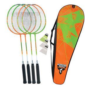 KIT BADMINTON TALBOT TORRO Set de Badminton 2 Combat - 2 raquett