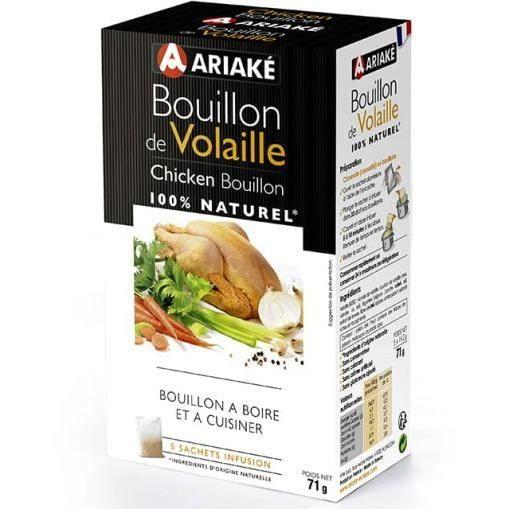 ARIAKE - Bouillon de Volaille - 5 sachets