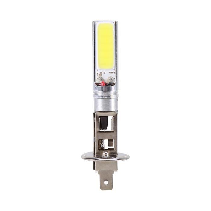 Super brillant H1 LED Ampoules Phare-brouillard Blanc 6000K COB LED DRL