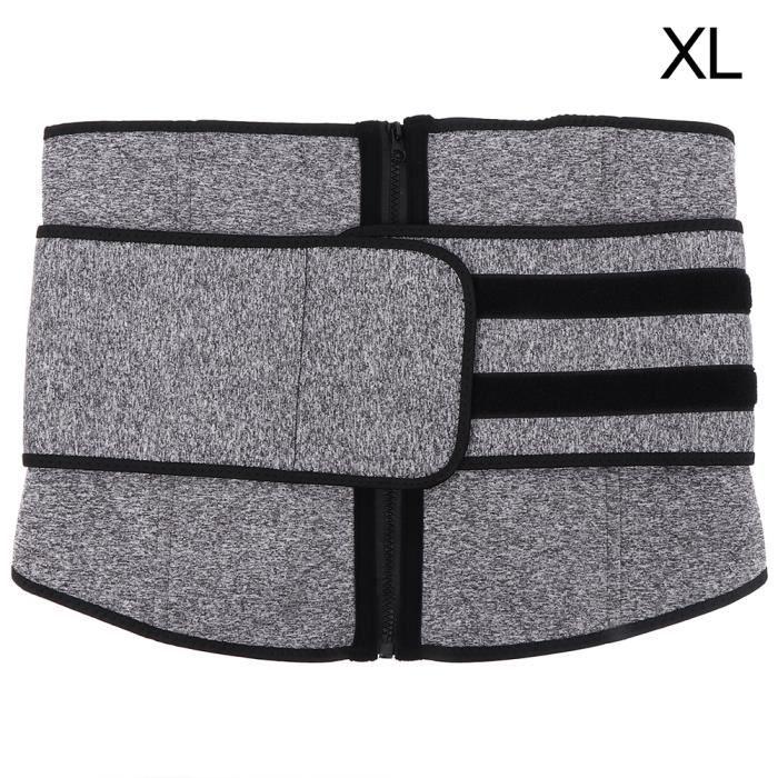 Ceinture de formateur de taille minceur Body Shaper Belt Ceinture de ceinture de sport (XL)