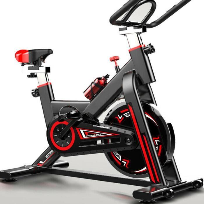 Vélo d'entraînement d'exercice à intérieur fitness sport multifonction -Noir