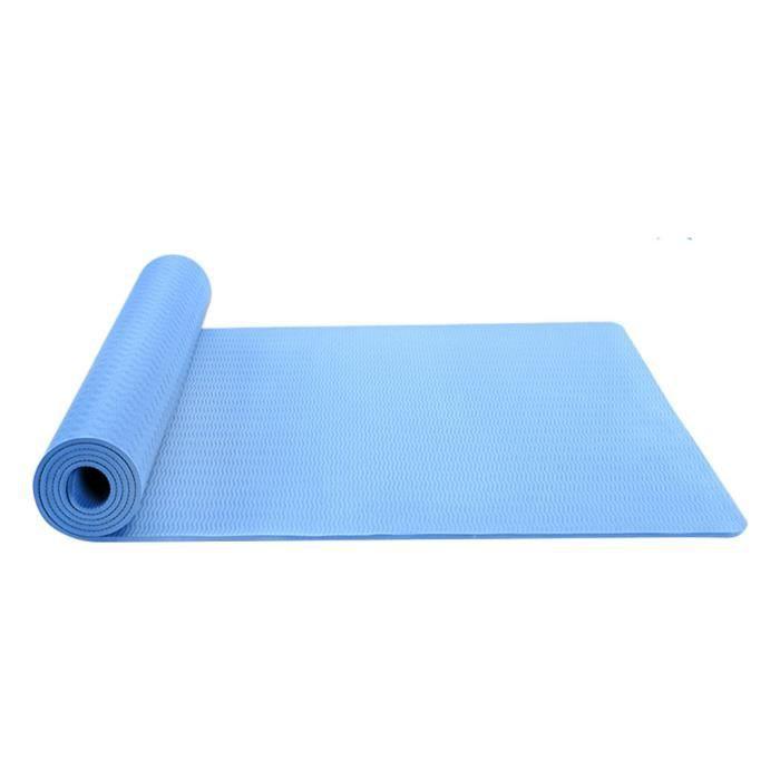 Tapis de yoga classique Yoga Mat Pro TPE Eco Friendly Antiderapant Fitness Tapis d'exercice Produit de yoga 71