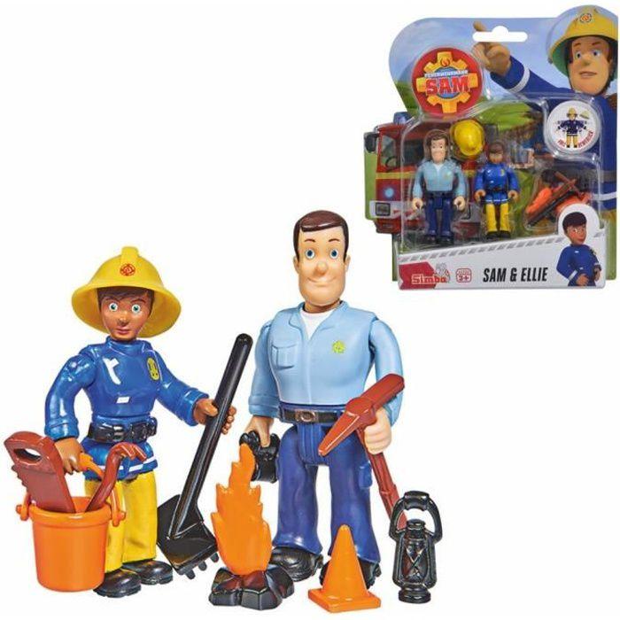 Sam & Ellie - Sam Le Pompier - Ensemble Jouer Chiffres - Simba Toys