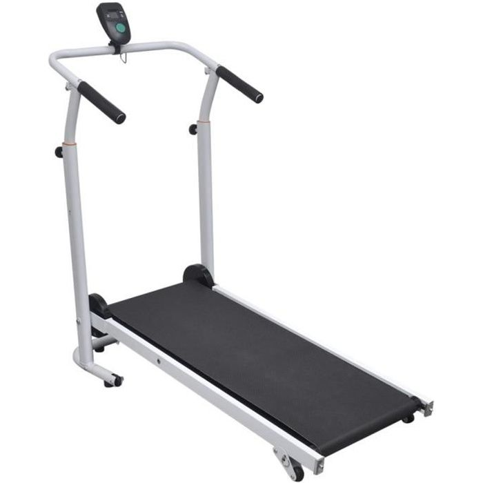 *7301SALE Elégant Magnifique Tapis de course Electrique Mini tapis roulant pliable Moderne Décor - Tapis de marche Cardio fitness 93