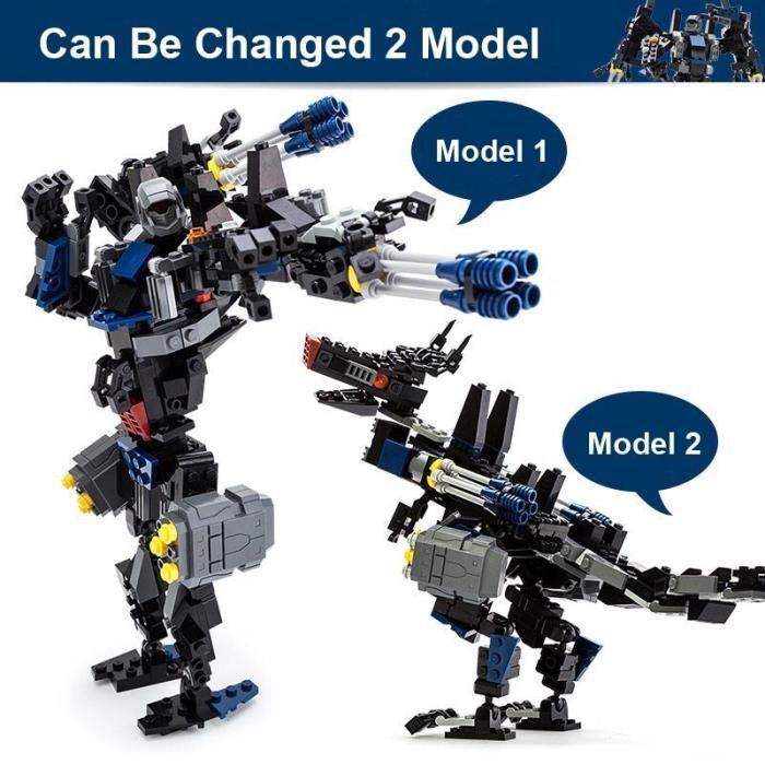 Blocs de construction de voiture de Sport Robot, série de Transformation 2 en 1, Kit de jouets, meilleurs cadeaux pour [2A35107]