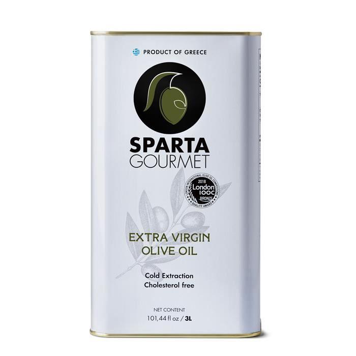 Huile d'olive Extra vierge - médaillées - Kalamata- 3 litres
