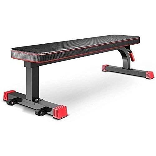 Cha de fitness Banc de musculation réglable banc d'haltères banc plat presse multifonctionnelle entraînement professionnel exercice
