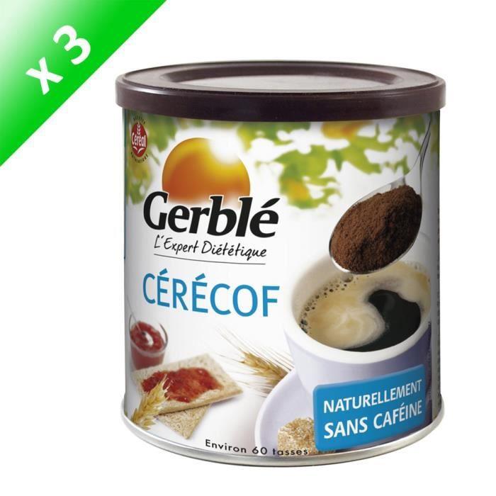 [LOT DE 3] CERECOF Boisson instantanée, succédané de café - 125 g