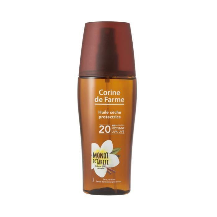 Corine de Farme -Huile Sèche- Protectrice - SPF20 -Made in France- 150ml