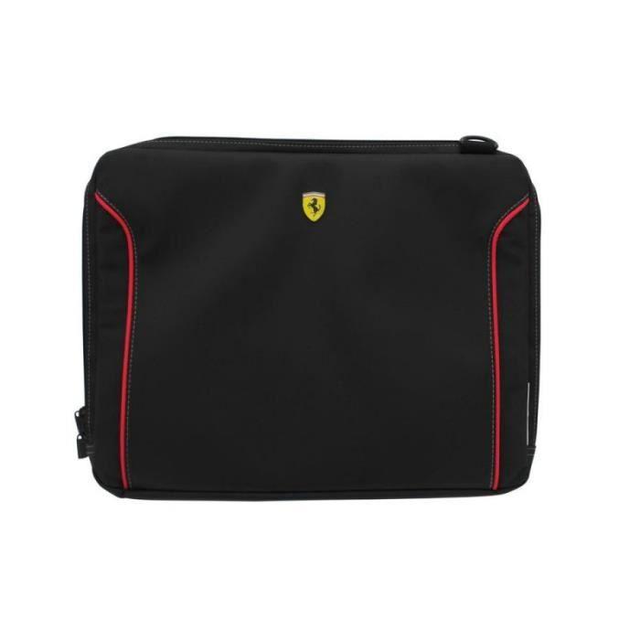 Ferrari Fiorano Housse pour Ordinateur Portable 13' Noir