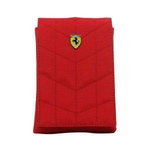 Etui universel Ferrari rouge à rabat