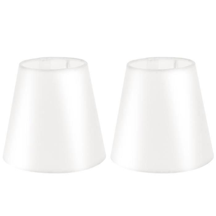 2 pièces Couverccle de la Lampe Décorative Tissu Pour Lampadaire Mur Loupière abat-jour vendu seul luminaire d'interieur