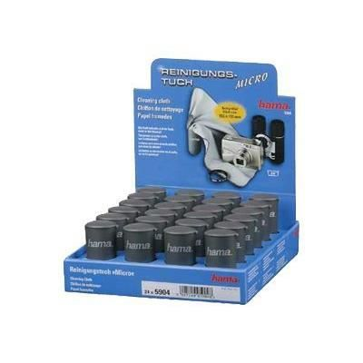 HAMA Chiffons de nettoyage en microfibres Micro - Présentoir de 24 pièces