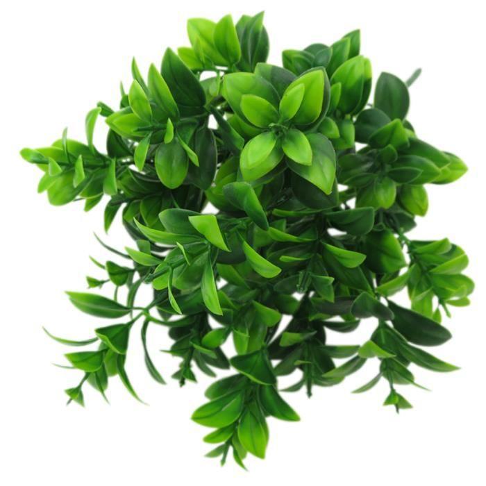 Artificielle Plante Décor Intérieur Feuillage Vert Artificiel Maison Bricolage Type D