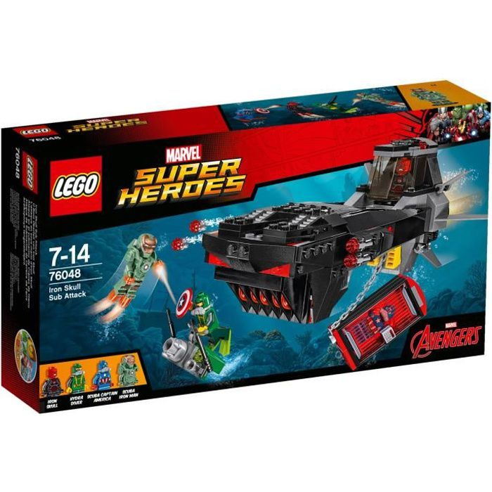 LEGO® Marvel Super Heroes 76048 - L'Attaque en Sous-Marin d'Iron Skull