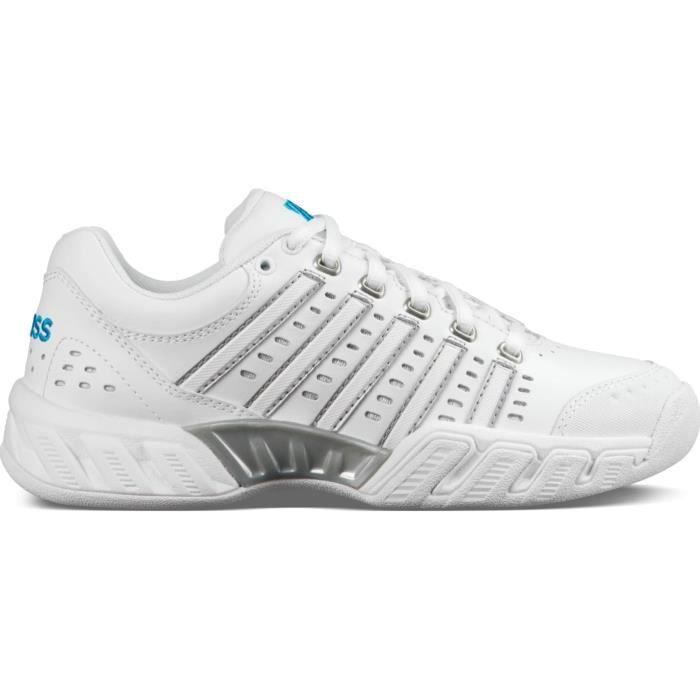 K-Swiss - Bigshot Light LTR Carpet Femmes Chaussure de tennis (blanc) - EU 37,5 - UK 4,5