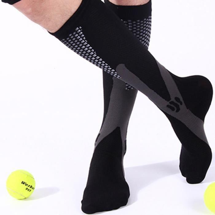 2 paires de chaussettes de de sport de football Running CHAUSSETTES DE RECUPERATION - CHAUSSETTES DE