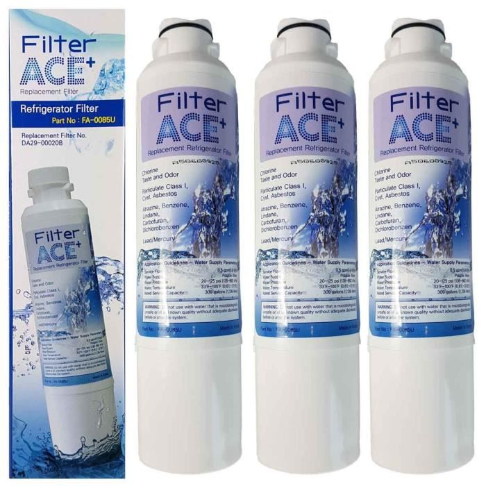 Filtre ACE FA-0085U remplace Samsung DA29-00020B - HAF-CIN-EXP par 3