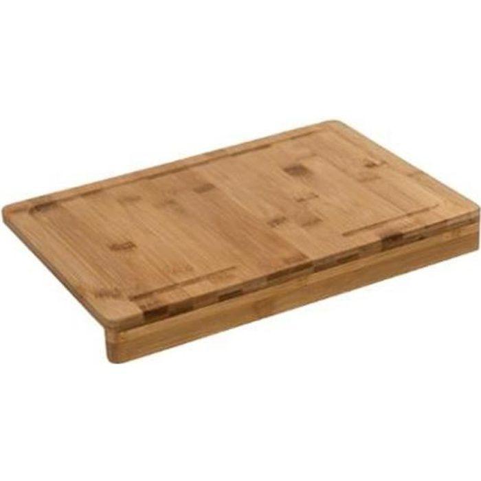 Planche à découper Bambou avec rebord 35 x 24 cm