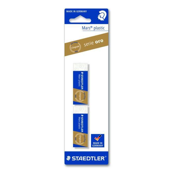 Staedtler 52650BK2DA, Plastique, Bleu, Blanc, Adultes et enfants, 23 mm, 13 mm, 65 mm