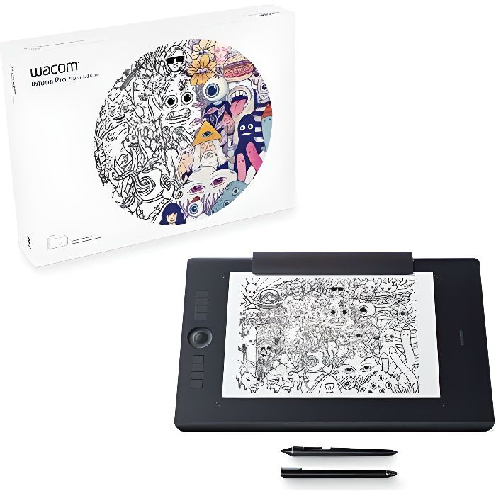 Wacom Tablette graphique Intuos Pro Paper Edition - Médium