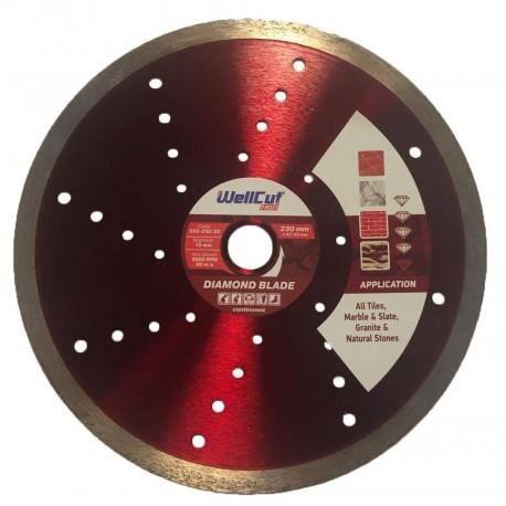 Disque WellCut PROFI DIAMANT CONTINU - Taille - Ø 230 x 22.23mm