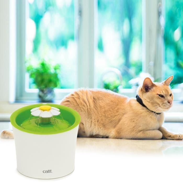 6 pcs filtres compatibles avec la fontaine catit flower et la fontaine catit design senses premium