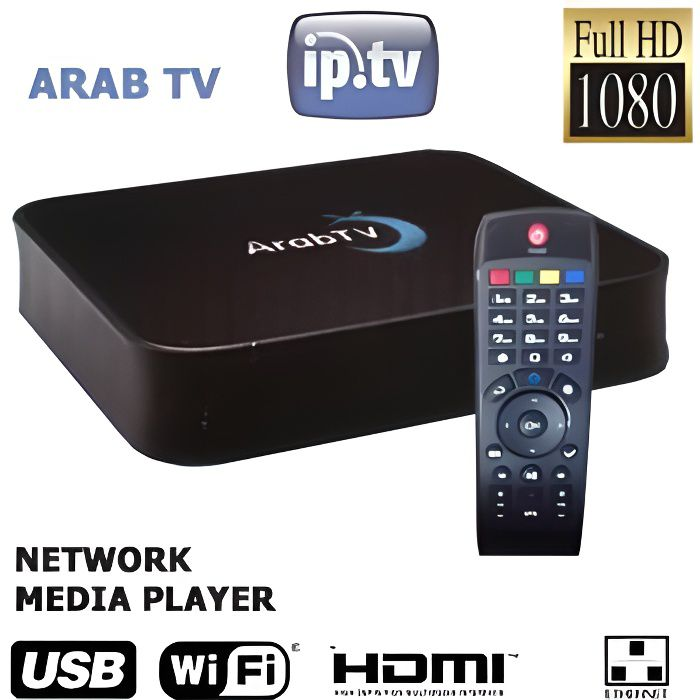 box iptv wifi cha nes arabes full hd abonnement 12 mois 400 cha nes r cepteur d codeur. Black Bedroom Furniture Sets. Home Design Ideas
