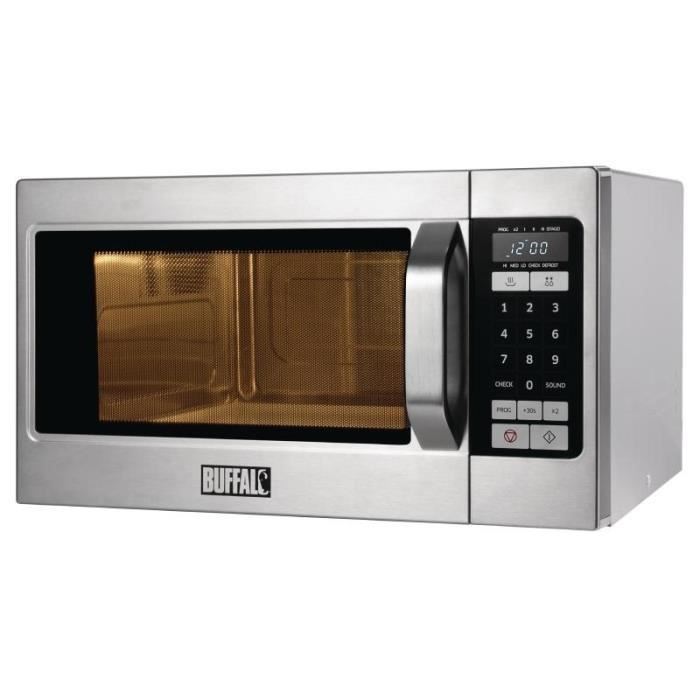 LOT APPAREIL CUISSON Micro-ondes professionnel programmable 1100W