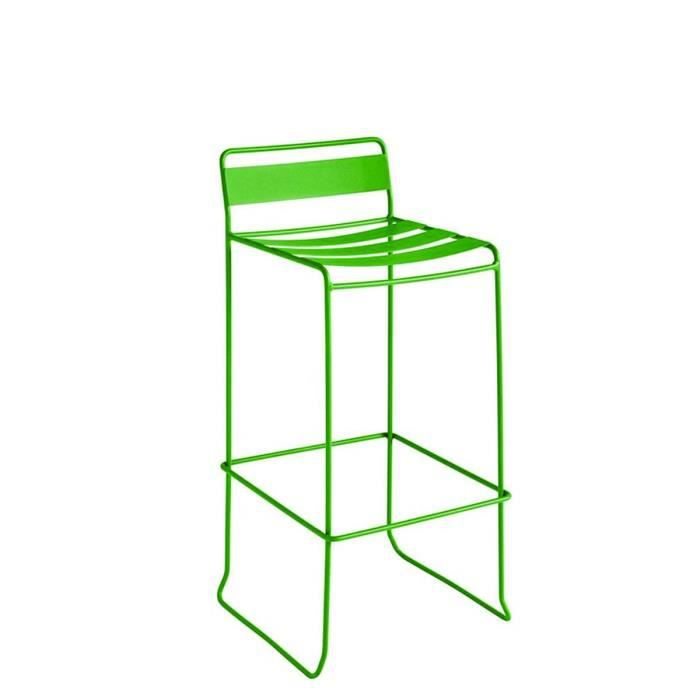 tabouret de bar vert pomme tabouret de bar vert. Black Bedroom Furniture Sets. Home Design Ideas