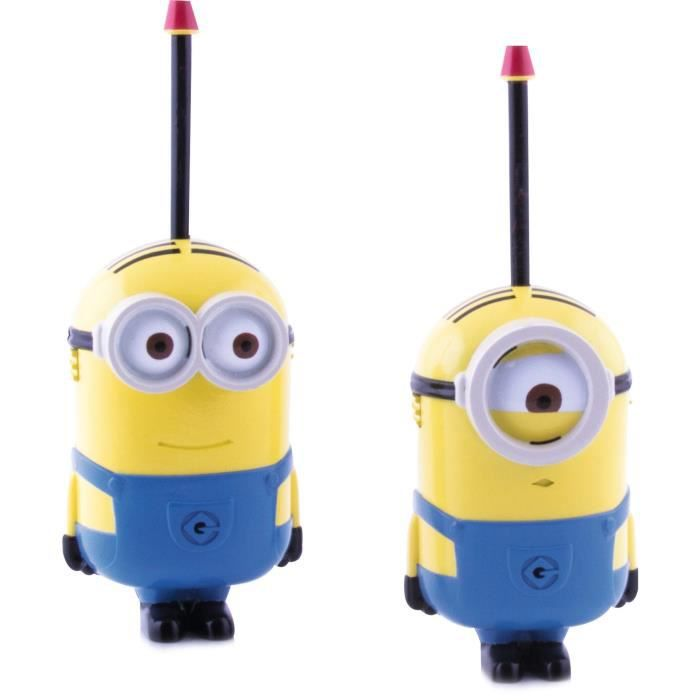 les minions talkie walkie dave et stuart achat vente. Black Bedroom Furniture Sets. Home Design Ideas