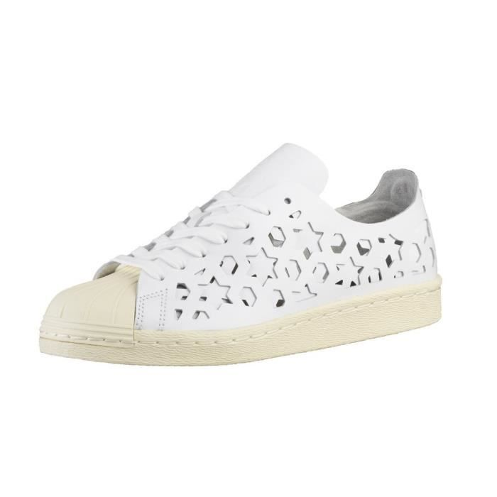 Chaussures Adidas Superstar 80S Cut Out W Blanc Achat