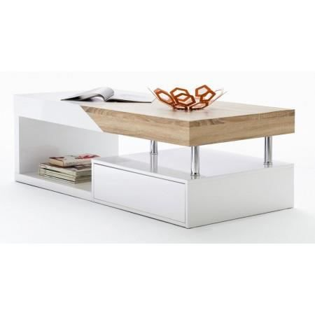 Table basse but images - Table basse bois blanc ...