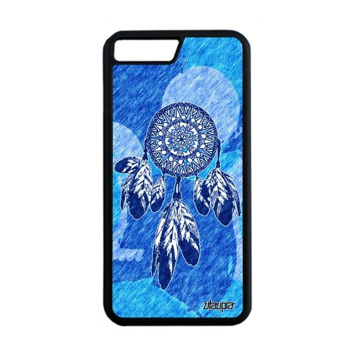 uk cheap sale presenting lace up in Coque iPhone 8 Plus silicone attrape reve pastel etoile Bleu tribal Apple  iPhone 8 Plus