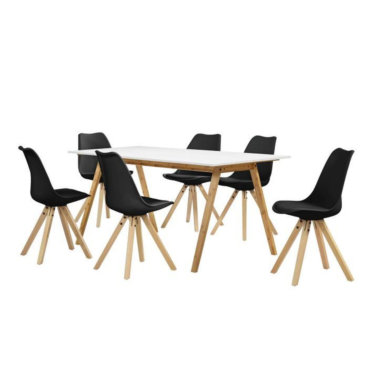 Table a manger 6 chaises maison design for Table a manger chaises