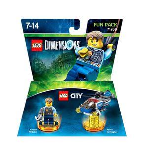 FIGURINE DE JEU Figurine LEGO Dimensions - Lego City Pack Héros