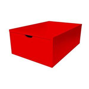 PETIT MEUBLE RANGEMENT  Cube de rangement profondeur 75 cm + tiroir Bois -